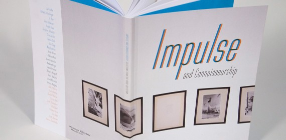 Impulse and Connoisseurship catalogue spine & cover