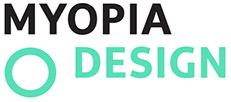 MYOPIA DESIGN – Graphic Design and Web Design in Santa Barbara, California Logo